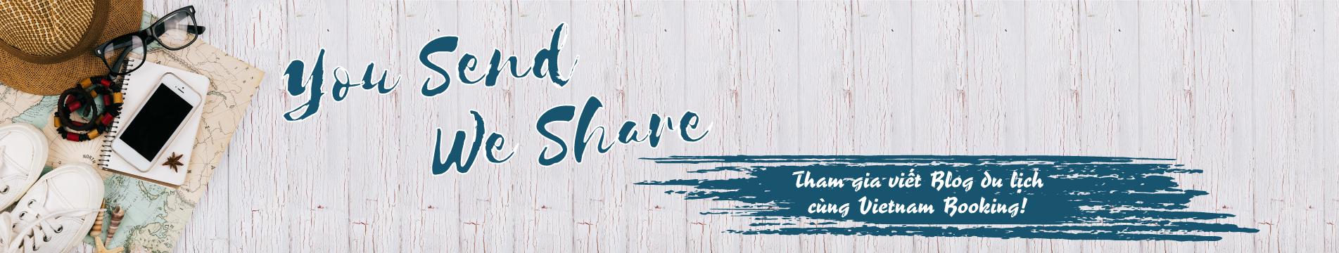 you send we share