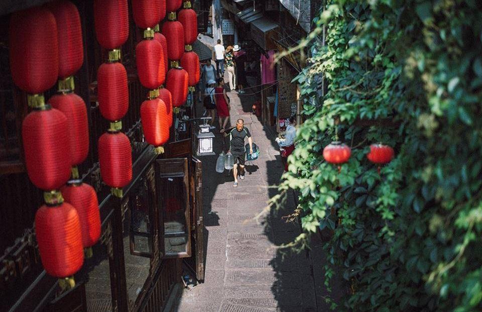 Ngõ nhỏ bình yên của Phượng Hoàng | Vietnam Booking