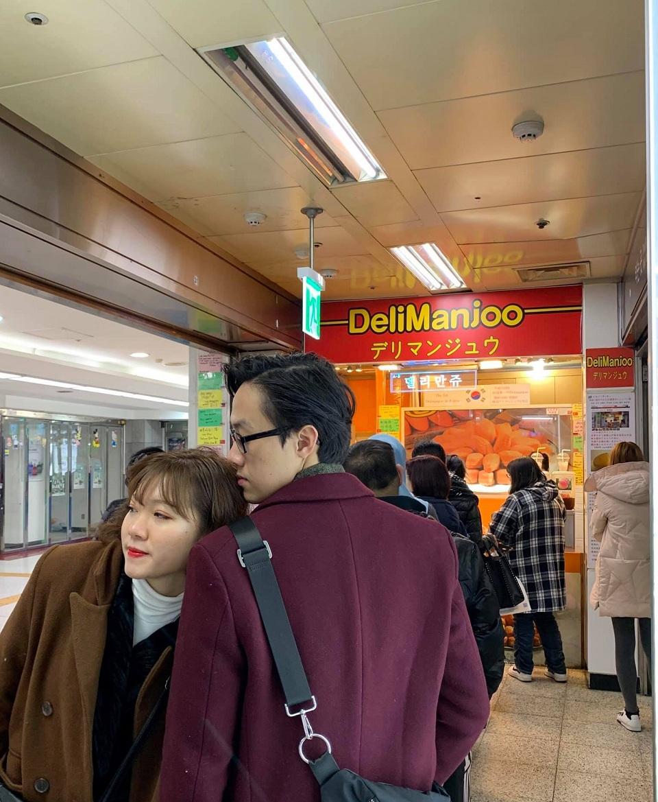 Bánh ngô DeliManjoo Seoul Hàn Quốc