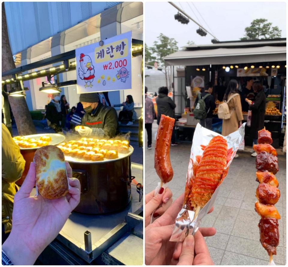 Món ăn đường phố Seoul Hàn Quốc