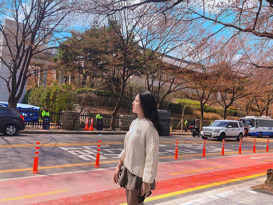 Đường phố Seoul hiện đại sạch sẽ