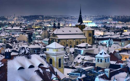 Mùa đông cổ tích tại Praha