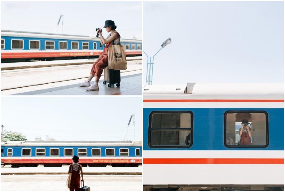 Cách chụp ảnh trên tàu hỏa