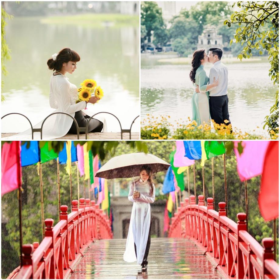 Địa điểm chụp hình Tết 2021 ở Hà Nội
